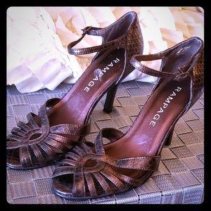 Vintage inspiried Rampage heels